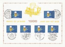 Feuillet 2230 Année De La Bière - Hojas