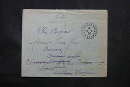 LEVANT FRANÇAIS - Enveloppe En Fm En 1924 Pour La France, Oblitération Postes Aux Armées 614 ( Alep ) - L 69144 - Lettres & Documents