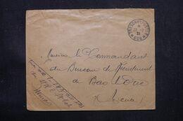 LEVANT FRANÇAIS - Enveloppe En Fm En 1921 Pour Un Bureau De Recrutement, Oblitération Postes Aux Armées 606 - L 69149 - Lettres & Documents