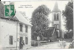 LASTIC - Eglise Et Poste - Altri Comuni