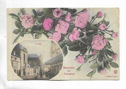 52 - Souvenir De Langres. Le Collège. - Langres