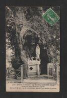 CPA . 27 . LA-HAYE-de-ROUTOT . Statue De ND. De Lourdes . - France