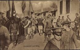 Cp Prilep Mazedonien, Straßenbild, Türkische Soldaten - Macedonia