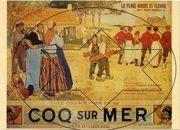 Posters Op Postkaart. Collectie Roland Florizoone - De Haan - Coq Sur Mer (DOOS 7) - De Haan