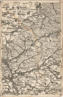 Badenweiler Badonviller Landkarten AK Badonville Montreux Senones 1919 - Ohne Zuordnung