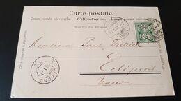 Porrentruy - Sent To Eclepens - Usados
