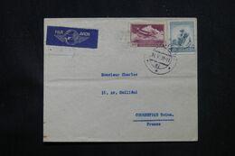 TCHÉCOSLOVAQUIE - Enveloppe Pour La France Par Avion En 1937 - L 69180 - Briefe U. Dokumente