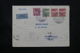 TCHÉCOSLOVAQUIE - Enveloppe De Prague Pour La France Par Avion En 1937 - L 69181 - Briefe U. Dokumente