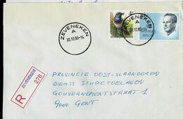 Doc. De ZEVENEKEN - A - Du 30/10/90 - En Rec. (E ) - Marcophilie