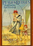 Posters Op Postkaart. Collectie Roland Florizoone - Oostende - Ostende (DOOS 7) - Oostende