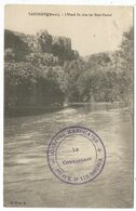 MAROC CARTE TAOURIRT  + CACHET VIOLET CONFINS MAROCAINS POSTE D'AIN DRISSA 1912 - Cartas