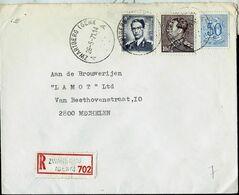 Doc. De ZWARTBERG ( GENK ) - A A - Du 26/05/71 - En Rec. (E ) - Marcophilie