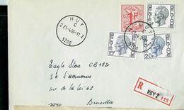 Doc. De HUY - 2 C 2 ( 5200 ) Du 21/04/80 - En Rec. (E ) - Marcophilie