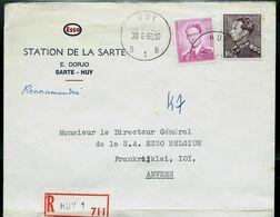 Doc. De HUY - B 1 B - Du 30/06/69 - En Rec. (E ) - Marcophilie