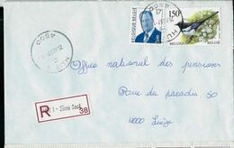 Doc. De HUY - C - ( 4500 ) Du 25/08/97 - En Rec. (E ) - Marcophilie
