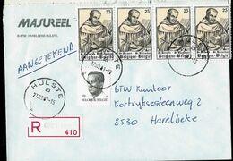Doc. De HULSTE - B - Du 27/03/91 - En Rec. (E ) - Marcophilie