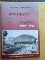 Lot De 19 Lettres Et Documents Commémorant Les Derniers Cachets Et Voyages Des Bueaux Ambulants - Trenes