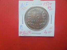 Albert 1er. 10 FRANCS 1930 VL POS.B TRES BELLE QUALITE ! (A.1) - 10. 10 Francos & 2 Belgas