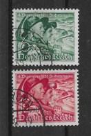 Deutsches Reich 1938 Mi.Nr. 684/85 Gestempelt - Usados