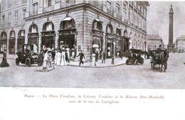 N°2709 R -cpa Paris -la Place Vendôme, La Colonne Et La Maison Aine Montaillé- - Arrondissement: 02