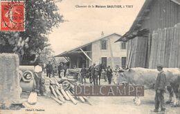 74 - VIRY - Chantier De La Maison SAULTIER - Beau Plan.1909 - Andere Gemeenten