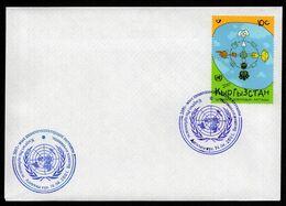 Kyrgyzstan 2001. Dialogue Of Civilization. FDC** - Kirgizië