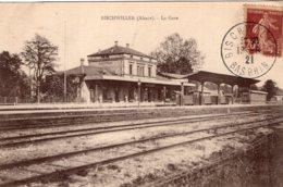 6343 Cpa Bischwiller - La Gare - Bischwiller