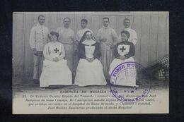MAROC - Cachet Du Poste D'Oudja Sur Carte Postale ( Infirmières Croix Rouge ) Pour La France - L 69196 - Lettres & Documents