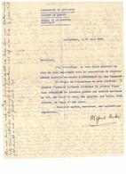 Avis Réquisition Logement Par La Préfecture Du Haut-Rhin, Bureau Défense Nationale, Lutterbach 10 Juin 1940 - 1939-45