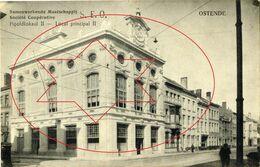 Societé Cooperatieve, Gentstraat. Villa's, Huizen, Gebouwen . Oostende - Ostende (DOOS 7) - Oostende