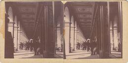Photo Stereo Paris Galerie Magasins Du Louvre Avril 1905 - Stereoscopic