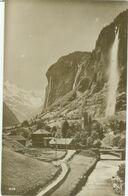 Lauterbrunnen 1920; Staubbach - Gelaufen. (Perrochet-Matile, Lausanne) - BE Berne