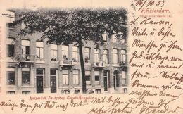 AMSTERDAM - KAISERL. DEUTSCHES GENERALKONSULAT 1903 / Ak 80 - Amsterdam