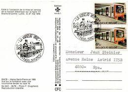 LA VAPEUR VIVE - SOIGNIES - 1986 - Trains