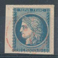N°37 CACHET ROUGE - 1870 Assedio Di Parigi