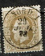 32  Obl Ambt Dc  Nord 1  Anvers  + 15 - 1869-1883 Léopold II