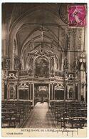 """Liesse-Notre-Dame / Notre-Dame De Liesse / Le Jubé / Oblitération Flamme """" Daguin """" 1934 - Otros Municipios"""