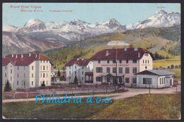 Bohinjska Bistrica, Hotel Triglav, Mailed 1910 - Slovenia
