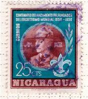 PIA - NICARAGUA - 1957 :  100° Della Nascita Di Lord Baden Powell - Il Lord. -   (Yv  800 ) - Nicaragua