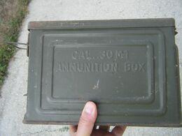 Caisse A Munitions US CANCO Ww2 - 1939-45
