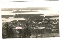 ROVANIEMI Aerial View Sent 1929 - Finland
