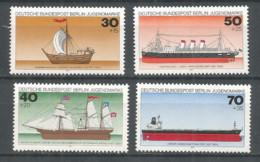 Germany Berlin 1977 Year Mint Stamps MNH(**) Mi.# 544-47 Ships - [5] Berlin