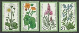 Germany Berlin 1977 Year Mint Stamps MNH(**) Mi.# 556-559 Flowers - [5] Berlin