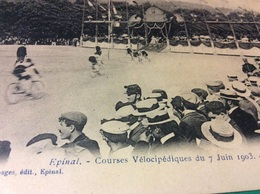 ♥️ EPINAL. Courses Vélocipèdes 7 Juin 1903 - Epinal