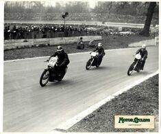 1958 CRYSTAL PALACE LONDON MYHAN VELO SOUVARD NORTON   25*20cm  Motocross, Course De Motos Moto  MOTORCYCLE Motorcycles - Auto's