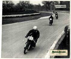 1958 CRYSTAL PALACE LONDON VELO SMITH NEAL 25*20cm  Motocross, Course De Motos Moto  MOTORCYCLE Motorcycles - Auto's