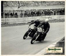 1958 CRYSTAL PALACE LONDON TRIUMPH YOUNG NORTON WASHER  25*20cm  Motocross, Course De Motos Moto  MOTORCYCLE Motorcycles - Auto's