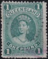 Queensland    .    SG        .   156  (2 Scans)      .         O      .       Cancelled .   /   .  Oblitéré - Usados