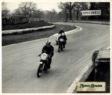 1958 CRYSTAL PALACE LONDON TRIUMPH WARDING HASLER RUDGE 25*20cm  Motocross, Course De Motos Moto  MOTORCYCLE Motorcycles - Auto's