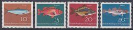 Bund 1964 - Mi.Nr. 412 - 415 - Postfrisch MNH - Tiere Animals Fische Fishes - Fische